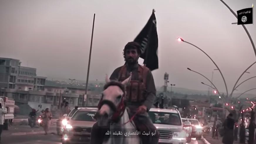 Isis Mosul anniversary