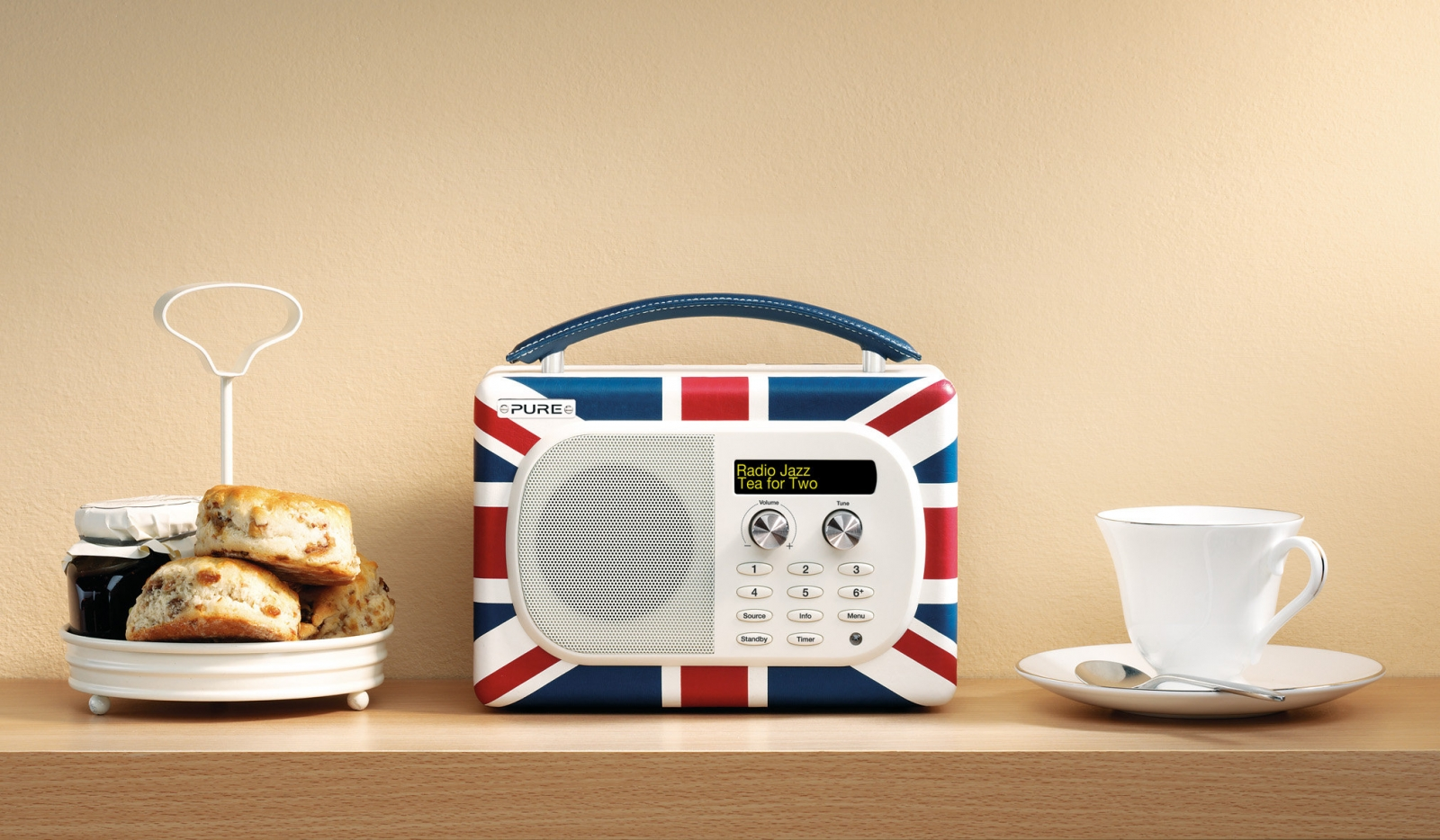 Pure Evoke Mio Portable DAB Digital/FM Radio