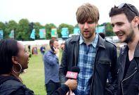 Kodaline Interview Isle of Wight Festival
