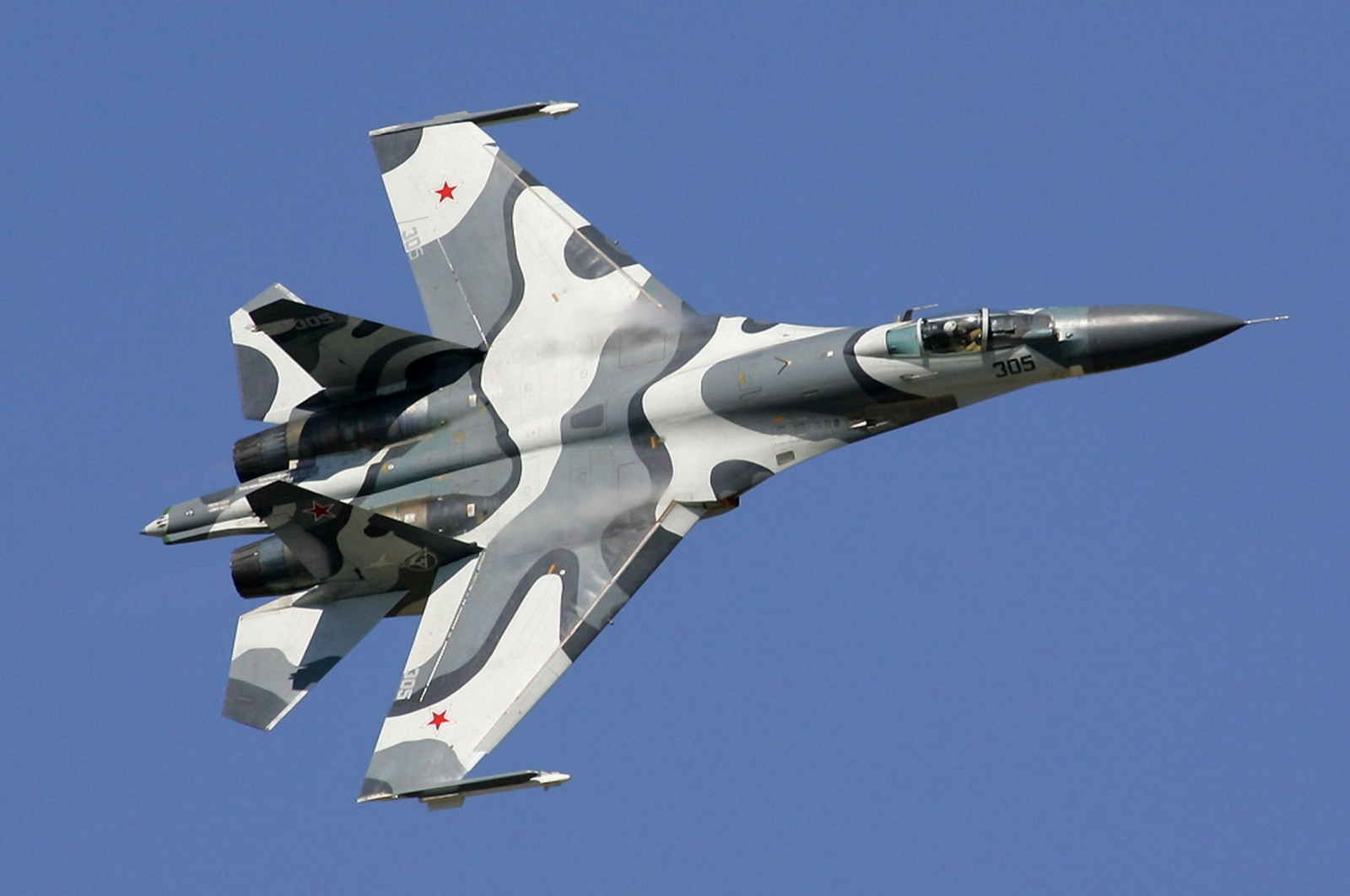 Sukhoi 27 fighter jet