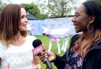 Sharon Corr Interview Isle of Wight Festival