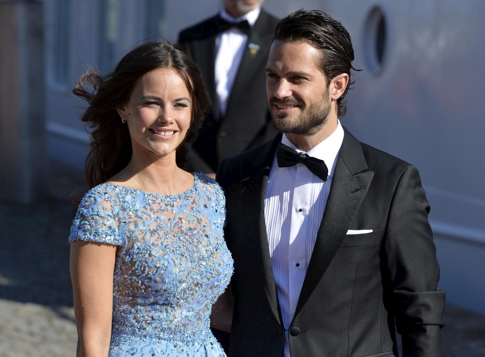 Swedish royal couple