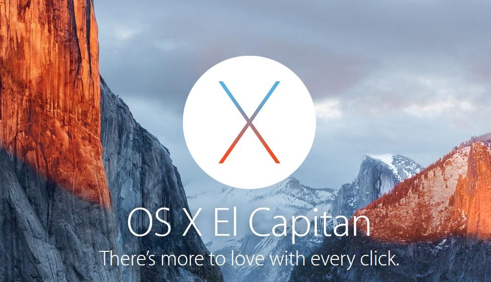OS X EI Capitan