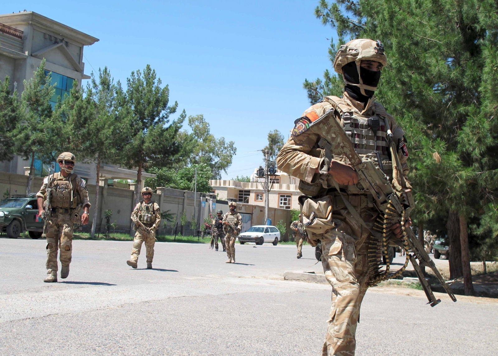 Afghan Taliban attack in Helmand province