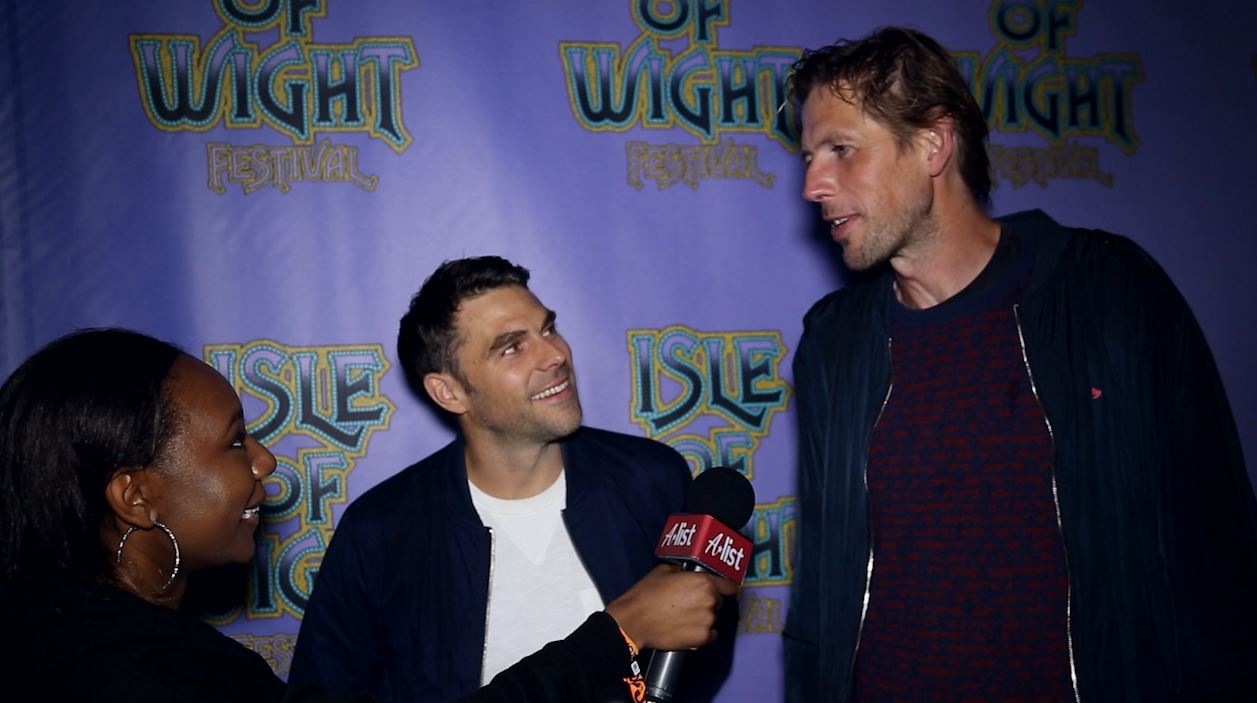 Groove Armada Interview Isle of Wight