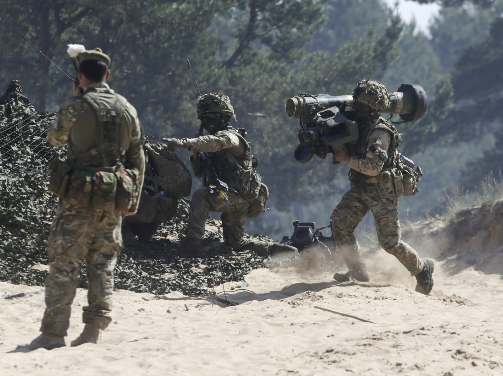 Ghurkas Nato exercise