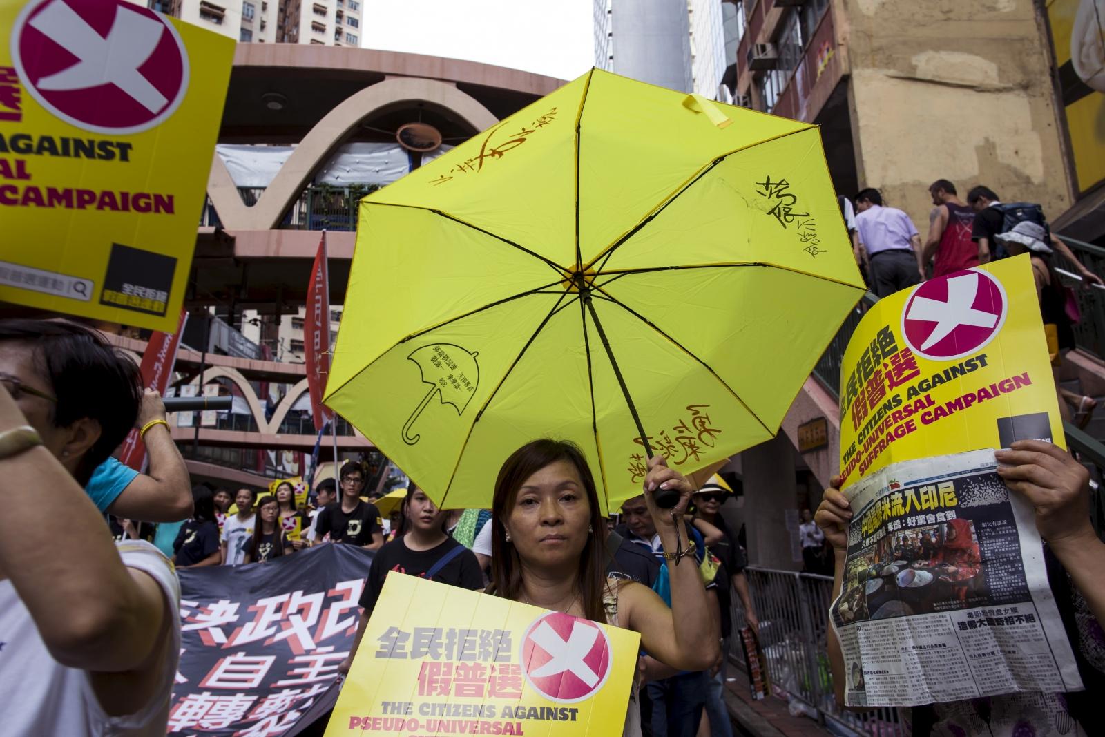 Hong Kong pro-democracy protest