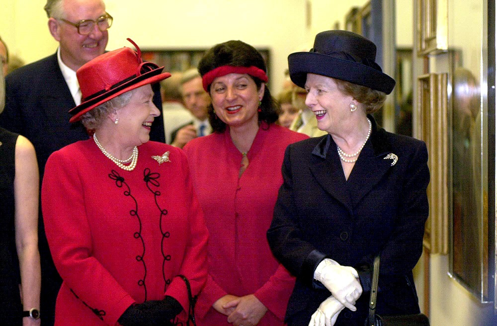 The Queen and Margaret Thatcher