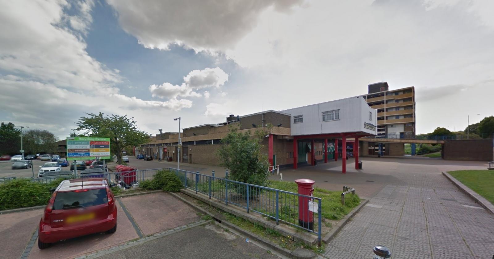 Purley Centre Luton via Google Maps