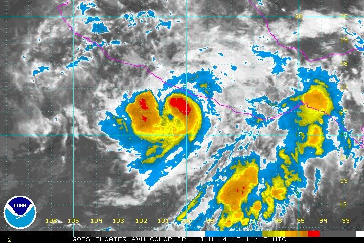 Hurricane Carlos Mexico