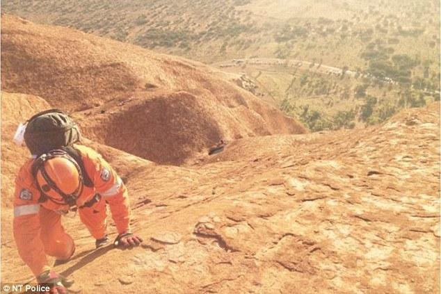 Uluru rescue