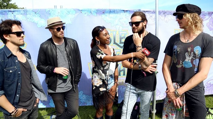 Sunset Sons Interview Isle of Wight Festival
