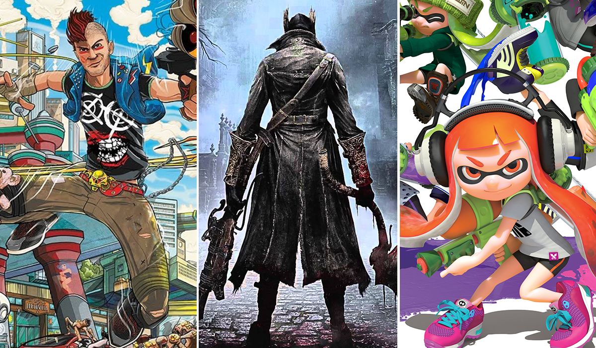E3 2014 Sunset Overdrive Bloodborne Splatoon