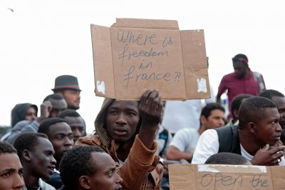 migrants France Italy