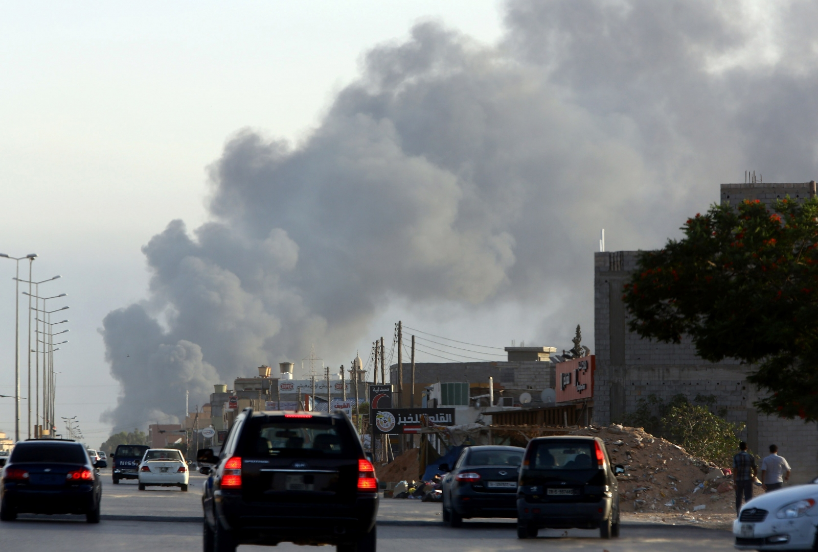 Tripoli Fire
