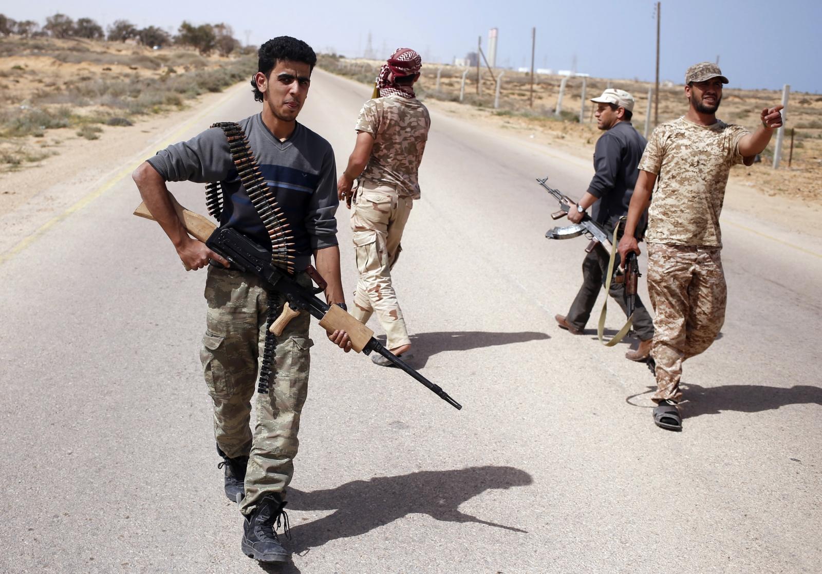 Libya Dawn forces ISIS