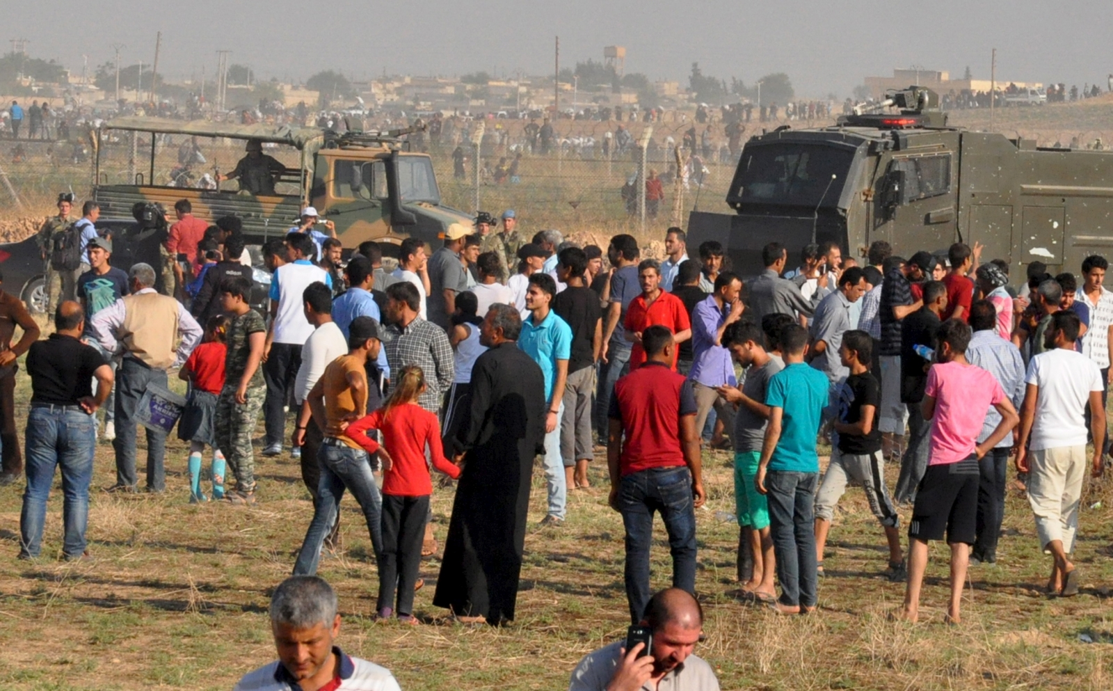 Tel Abyad Turkey Isis