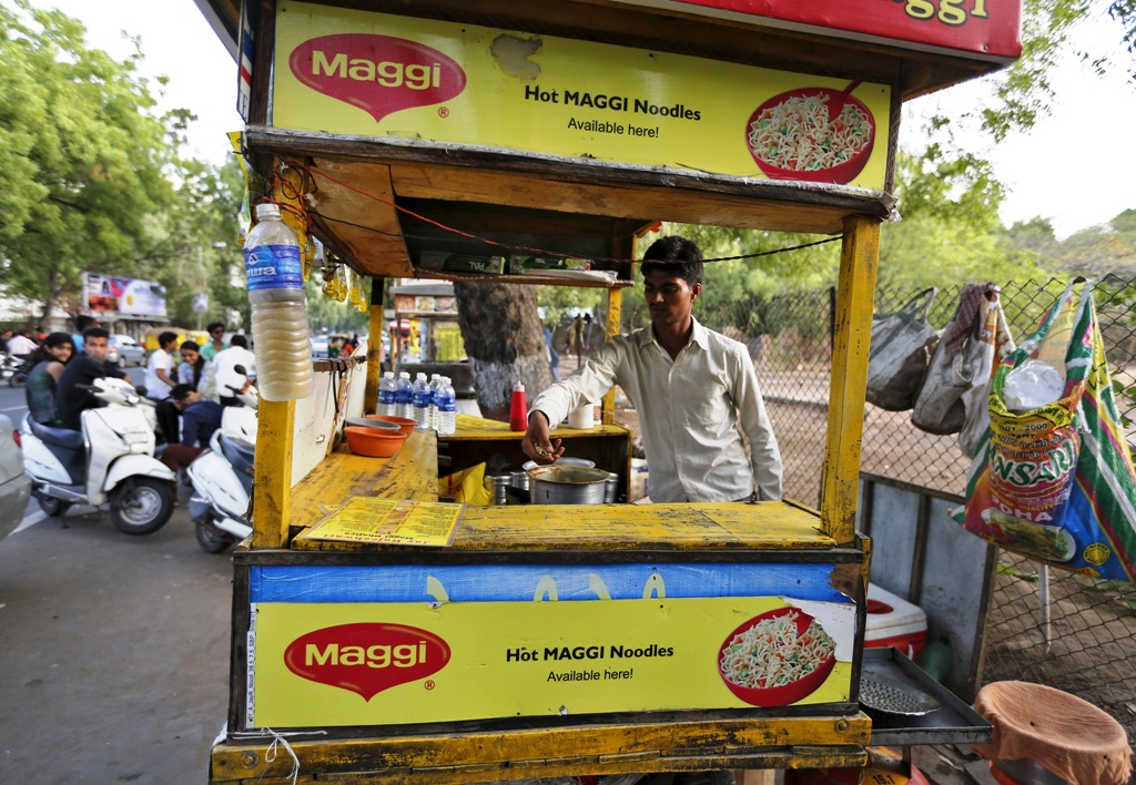 Nestle Maggi Noodles Vendor India