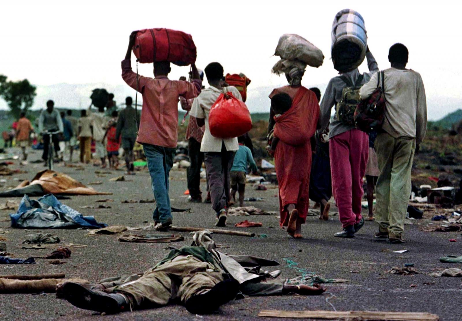 Rwanda genocide refugees