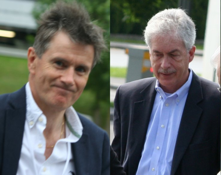 Sir John Sawers and William J Burns