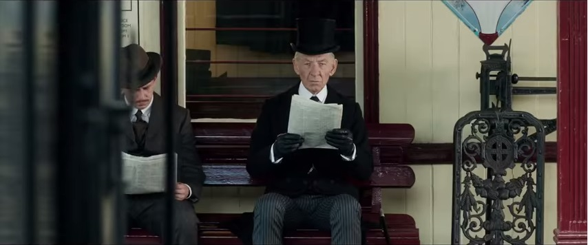 Sir Ian McKellen in Mr.Holmes
