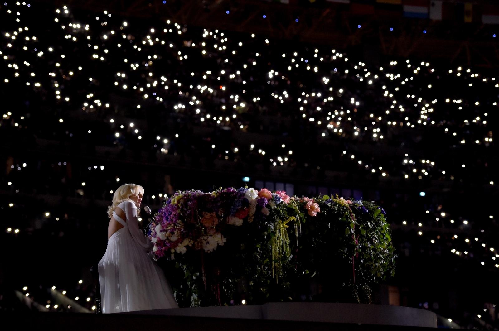 Lady Gaga Baku 2015 Azerbaijan