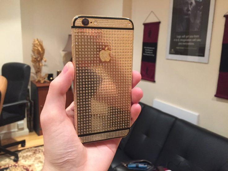 Gold-plated iPhone 6 by Gold Genie