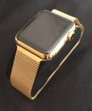Gold plated Apple Watch by Gold Genie