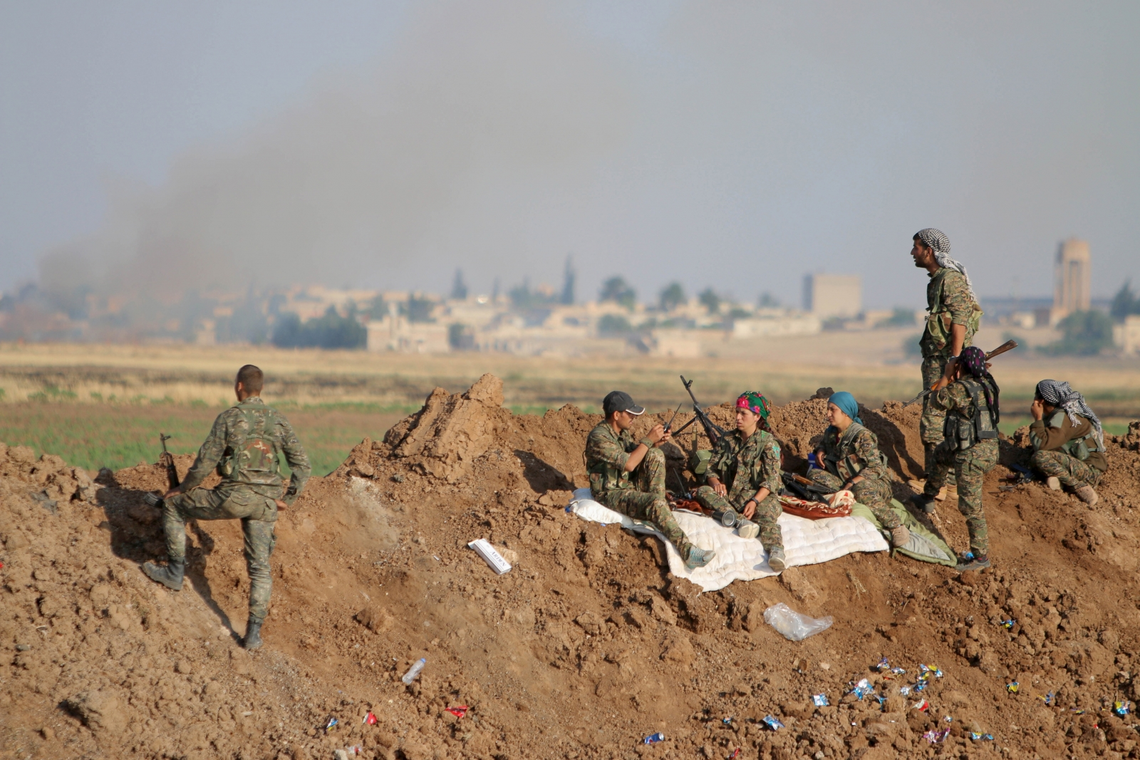 YPG Raqqa Tel Abyad