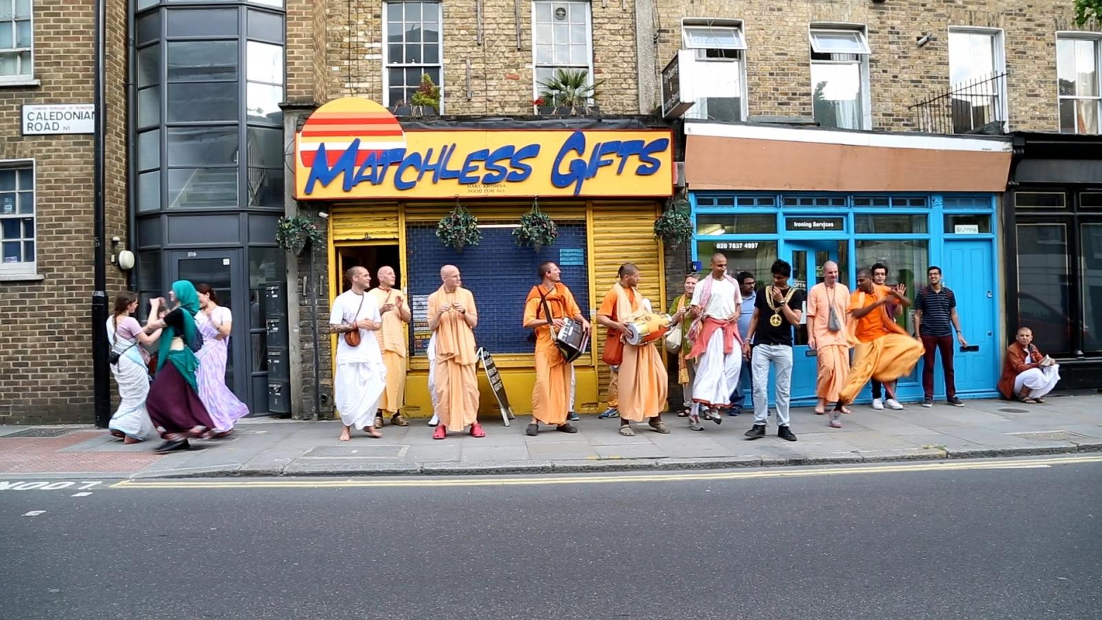 Hari Krishnas London