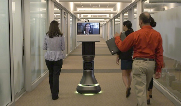 iRobot and Cisco's telepresence robot