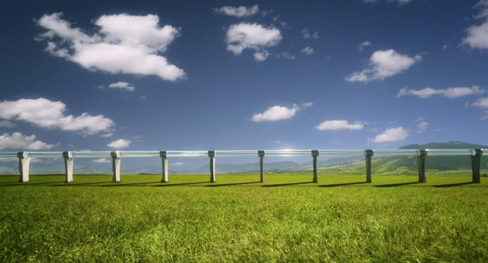 Hyperloop test track