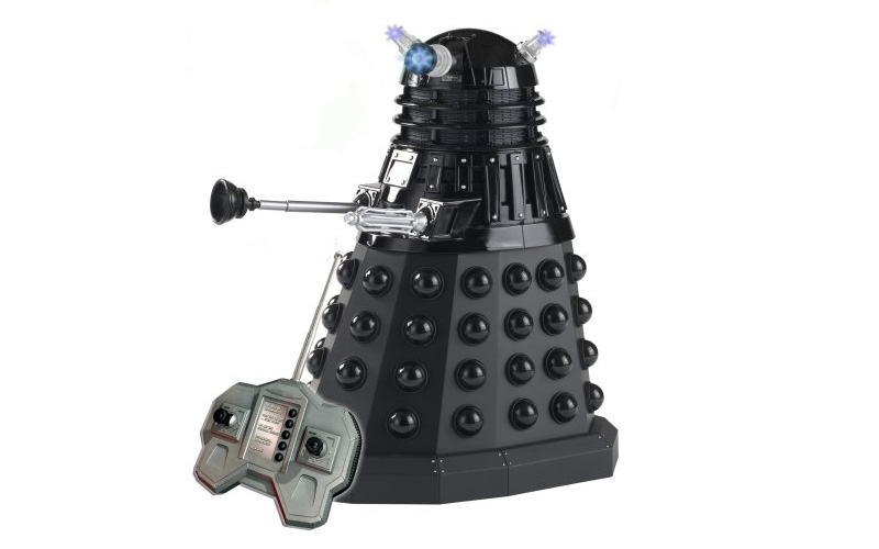 A remote-controlled Dalek from Dr Who