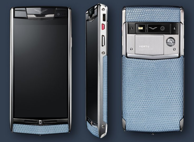 Vertu Signature Touch luxury smartphone