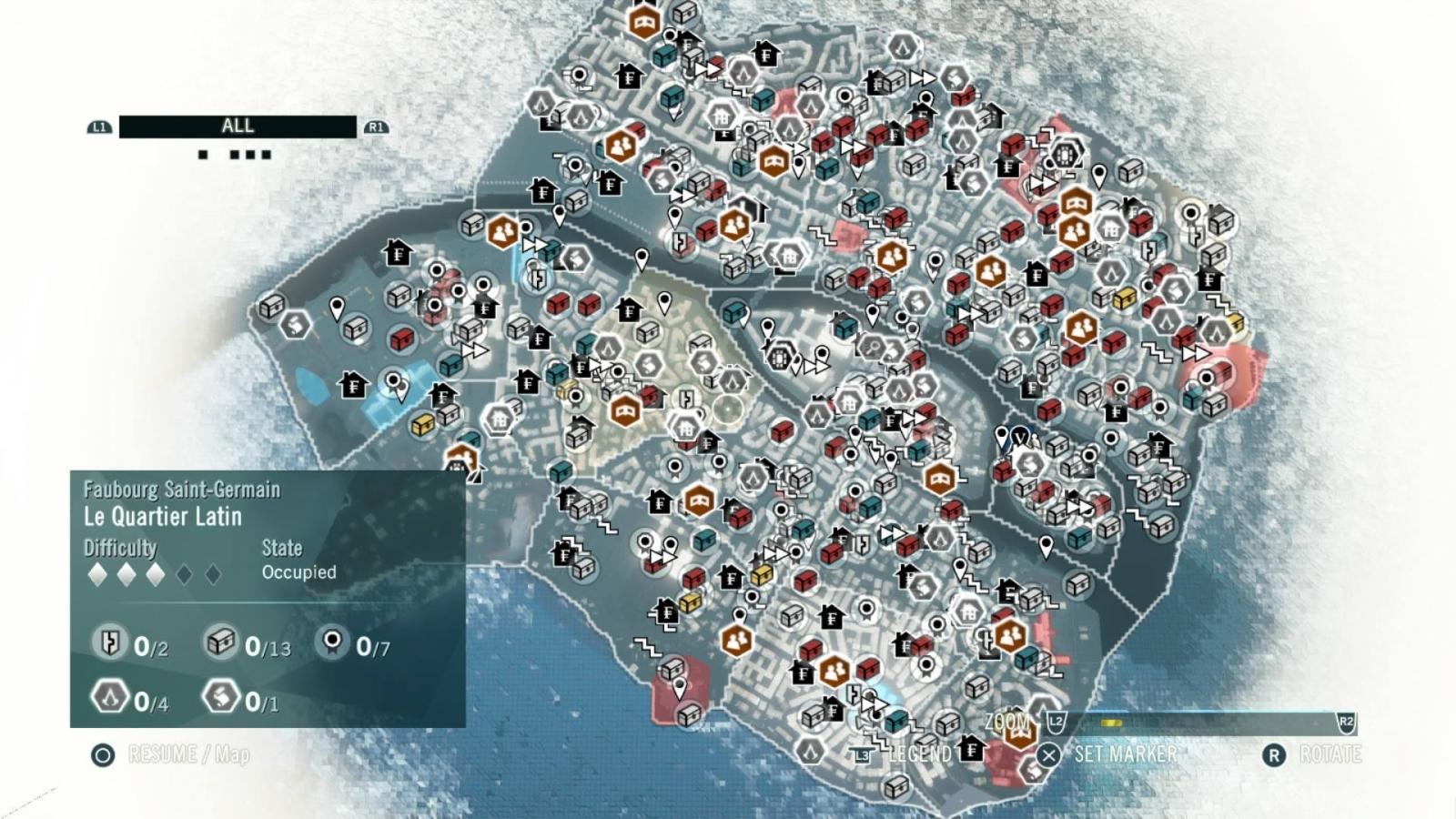 Assassin's Creed Minimap