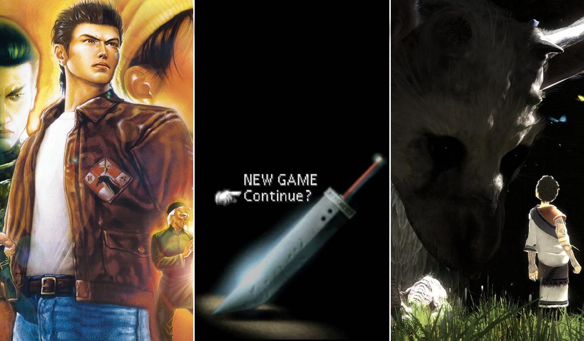 Sony E3 2015 Last Guardian Shenmue FF7