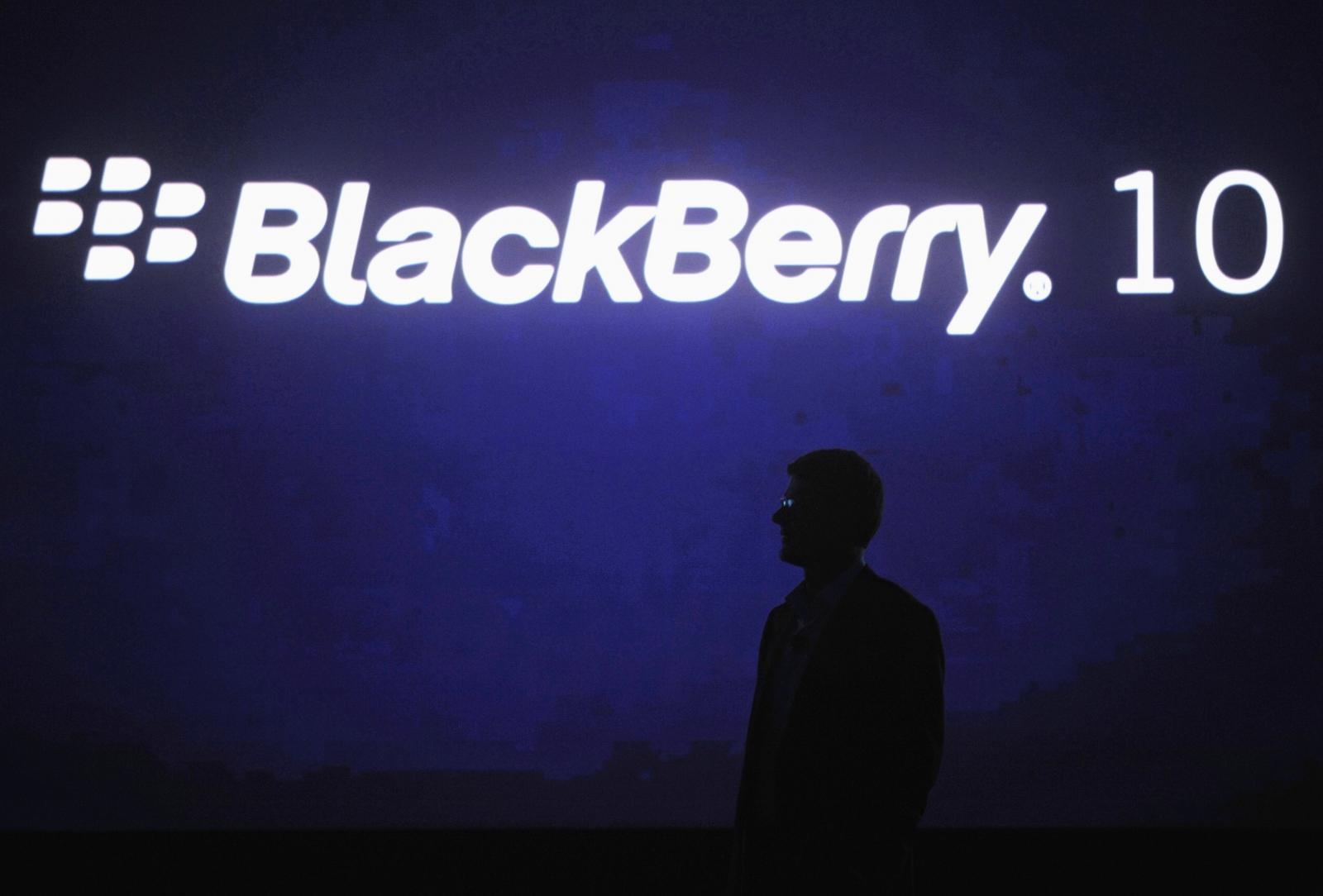 BlackBerry Enterprise IM client application