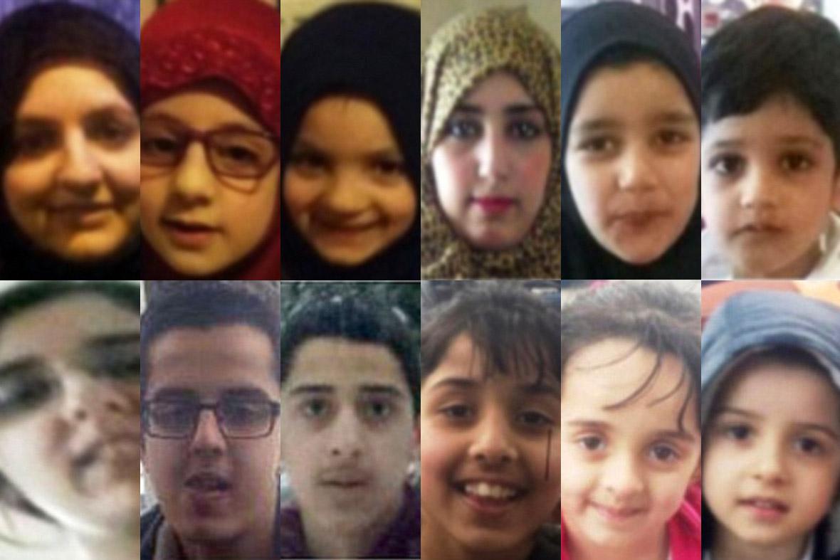 Bradford Syria children