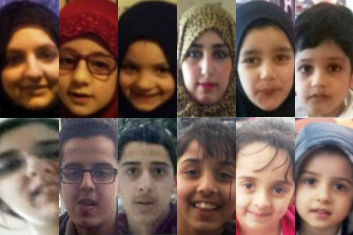 Bradford Syria children