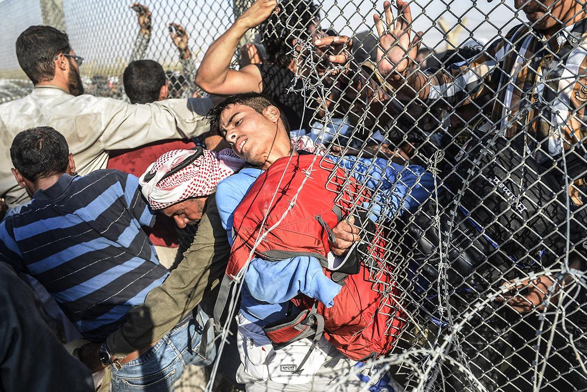 syria turkey border bulent kilic
