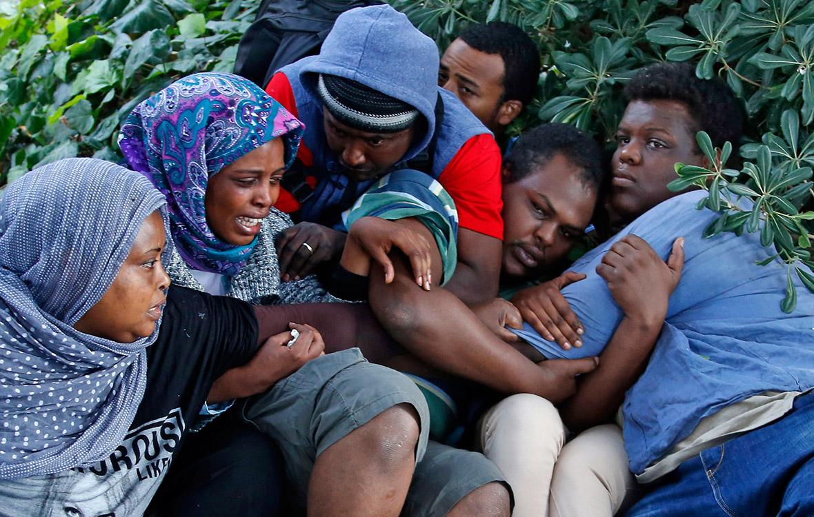 migrants France Italy