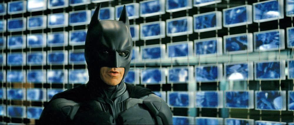 Dark Knight sonar vision mobile surveillance system