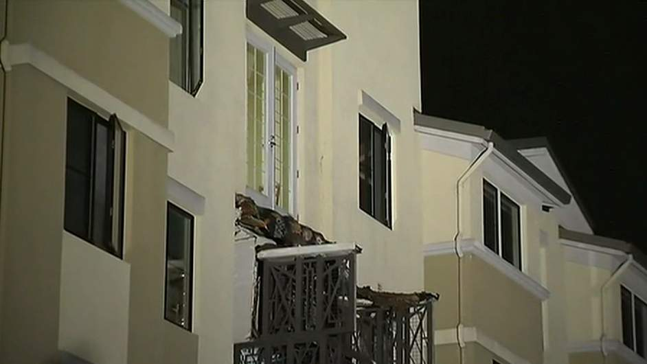 balcony collapse