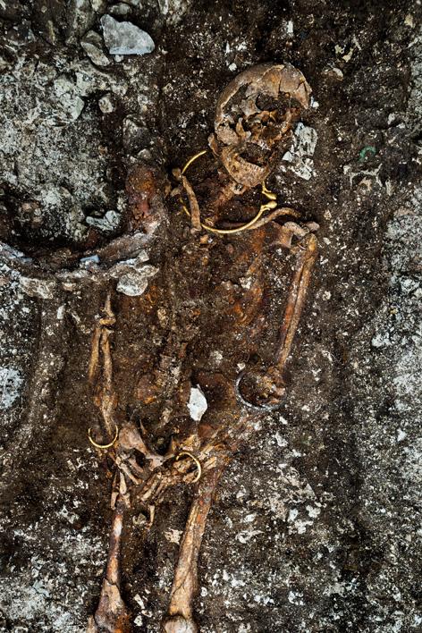 Celtic prince's tomb France