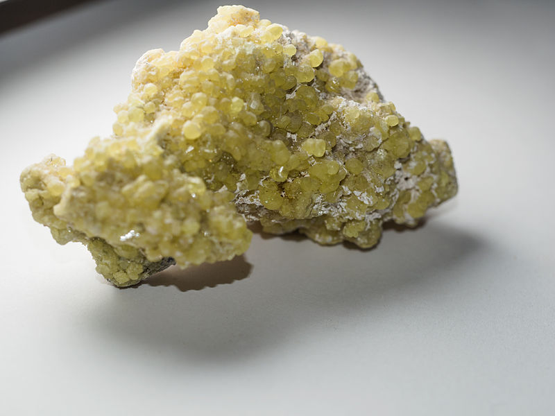 sulpher crystals