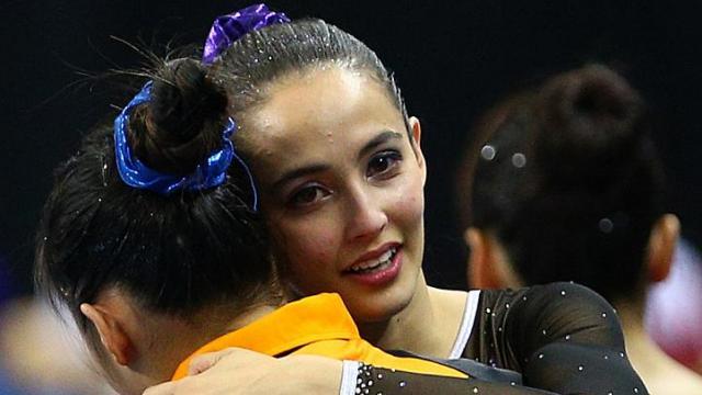 Gymnast Farah Ann Abdul Hadi