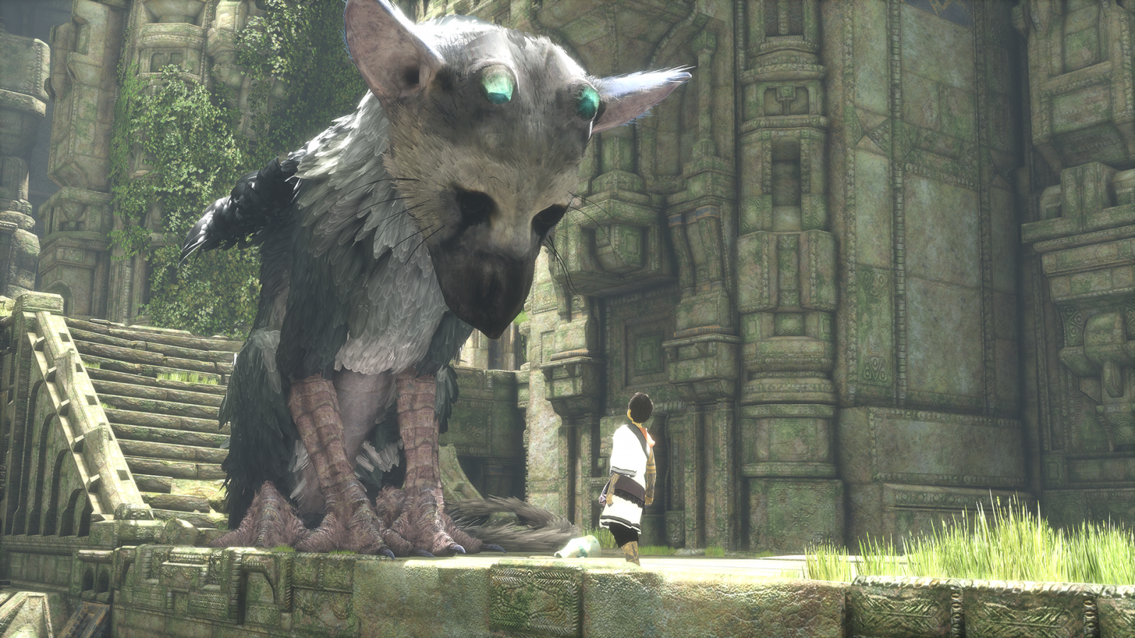 E3 2015 The Last Guardian PS4 Retains Fumito Uedas Artful Loneliness From Ico And Shadow Of Colossus