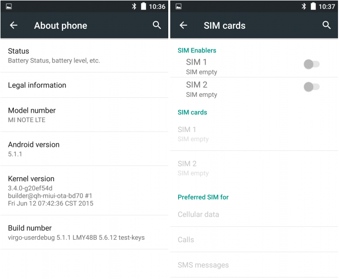 Xiaomi Mi Note receives MIUI Android 5 1 1 Lollipop ROM with TWRP