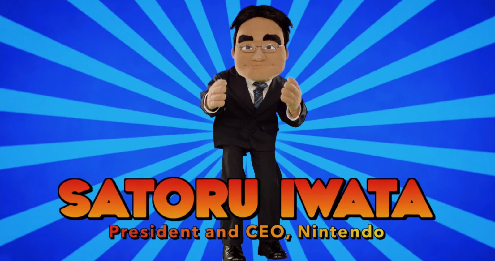 Satoru Iwata Nintendo Muppet