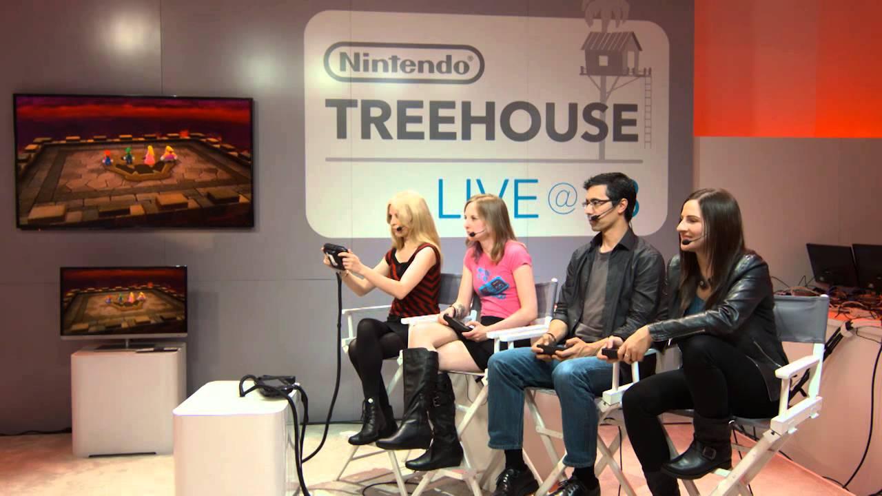 Treehouse Live Nintendo E3